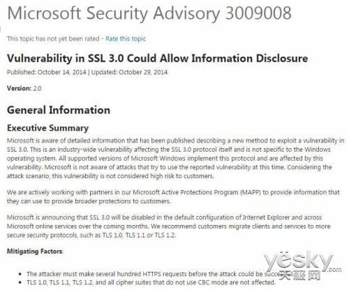 SSL3.0